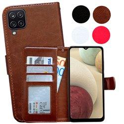 Samsung Galaxy A12 / A12 5G - PU Leather Wallet Case