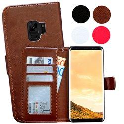 Samsung Galaxy S9 - PU Leather Wallet Case/Wallet