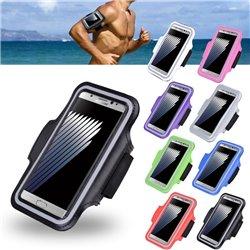 Samsung Galaxy A12 / A12 5G - PU Leather Sport Arm Band Case