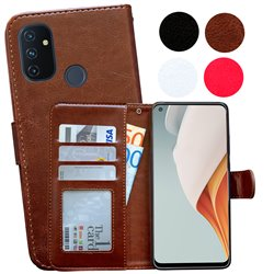 OnePlus Nord N100 - PU Leather Wallet Case