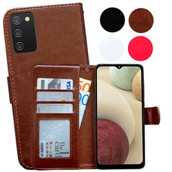 Samsung Galaxy A02s - PU Leather Wallet Case