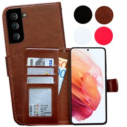 Samsung Galaxy S21 Plus - PU Leather Wallet Case