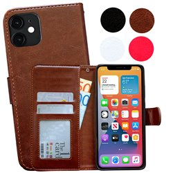 iPhone 12 Mini - PU Leather Wallet Case