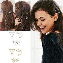 Hairpins Metal Bow Knot Hair Barrettes