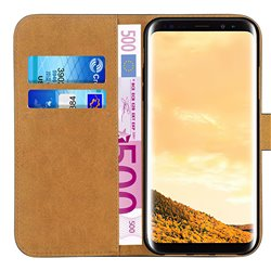Samsung Galaxy S8 - Leather Case / Wallet
