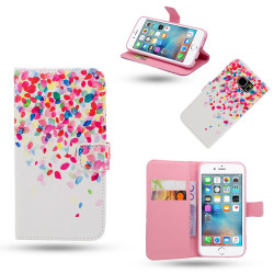 iPhone 6 / 6S - Fodral / Plånbok i Läder